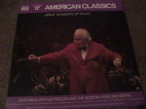 disco lp de american classics great moments of music