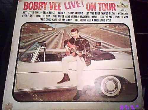 disco l.p de  bobby-vee