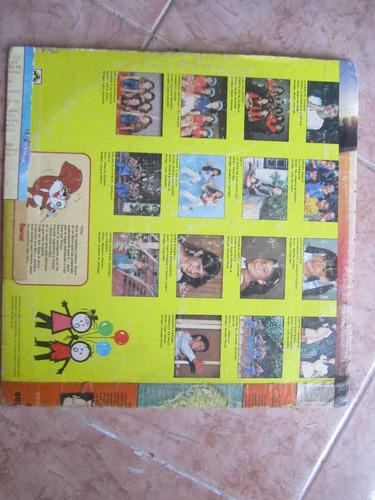 disco lp de canciones infantiles de los 60's