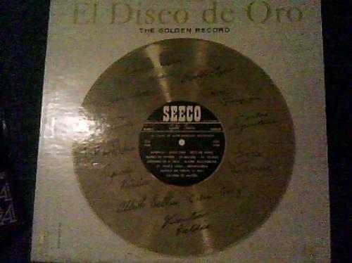 disco l.p de el disco de oro