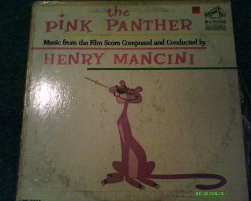 disco l.p de la pantera rosa