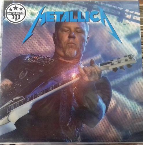 disco lp  de metallica  edicion limitada