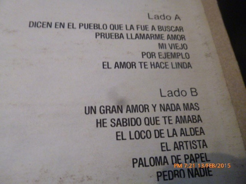 disco lp de nicola di bari   -- mi viejo (1178