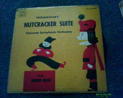 disco l.p de nutcracker suite