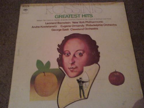 disco lp de rossinis greatest hits