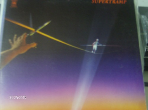 disco lp de supertramp - famous last words............