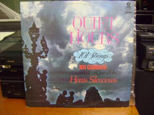 disco lp de vinil - quiet hours - 101 strings - cordas