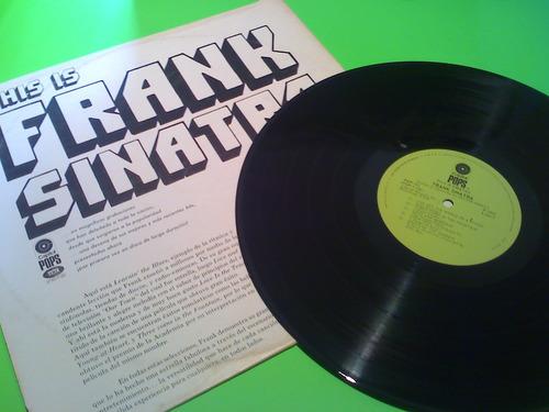 disco lp frank sinatra  this is sinatra