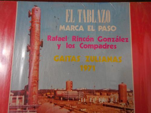disco lp gaitas el tablazo marca el paso rafael rincon 1971