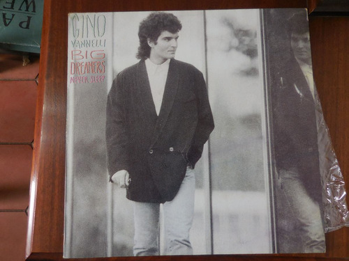disco lp gino vannelli big dreamers never sleep