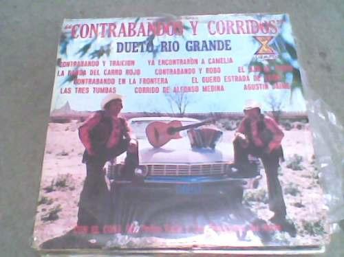 disco l.p. grande 331/3 dueto rio grande