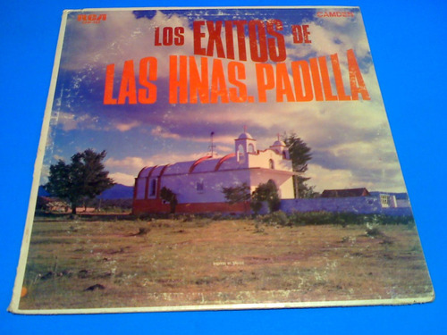 disco lp  - hermanas padilla los exitos
