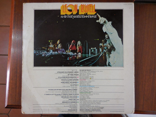 disco lp leon russell and the shelter people importado