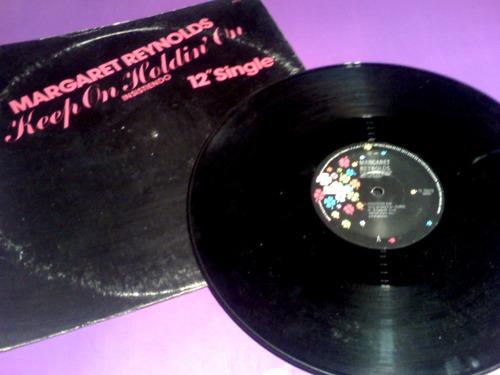 disco lp margaret reynolds keep on holdin high energy single