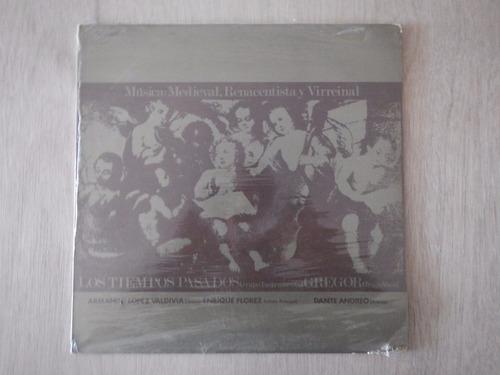 disco lp. musica medieval. renacentista  y virreinal. 4ele