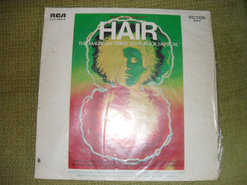 disco lp  musical hair