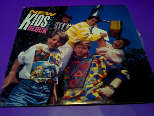 disco lp new kids on the block