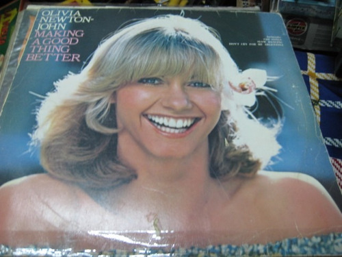 disco l.p olivia newton john  - making a good ...
