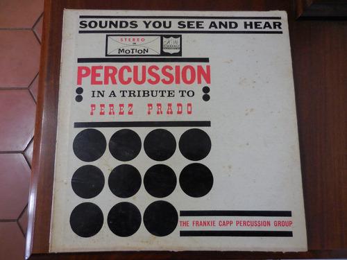 disco lp percussion in a tribute to perez prado