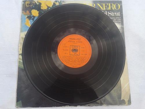 disco lp peter nero soulful strut excelente estado!!