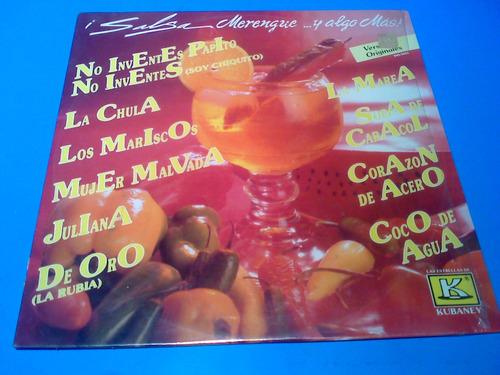 disco lp - salsa , merengue y algo mas varios artistas