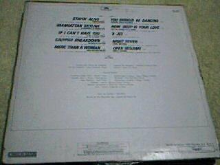 disco lp sammy & the disco-teks - fiebre instrumental sabado