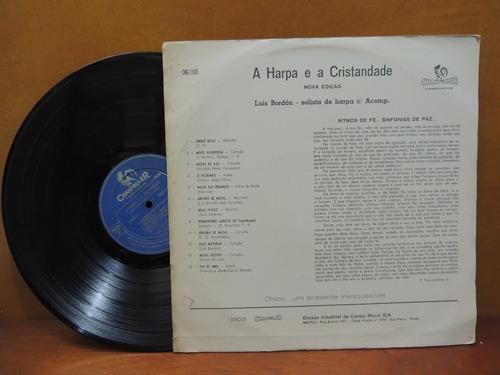 disco lp vinil a harpa e a cristandade 1975 luis bordon