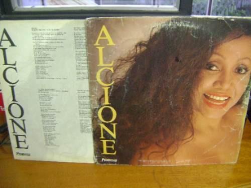 disco lp vinil - alcione - promessa - 1991