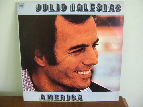 disco lp vinil julio iglesias america 1978