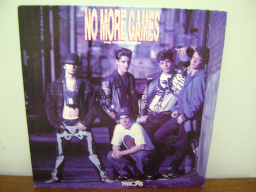 disco lp vinil new kids on the block no more games remix