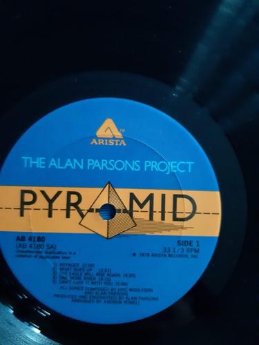 disco lp vinilo alan parsons project - pyramid  ed usa 1978