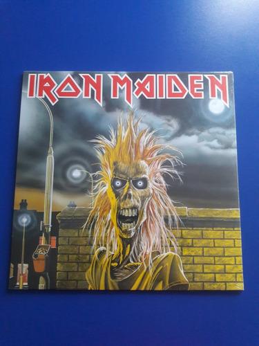 disco lp vinilo iron maiden - iron maiden - nuevo - usa 2014