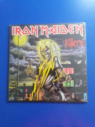 disco lp vinilo iron maiden - killers - nuevo - usa 2014
