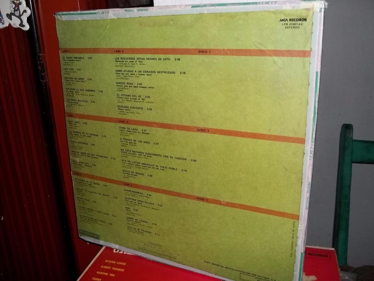 Disco Lp Vinilo Roger Williams Anatomia Musical (3 Discos - $ 391.00 ...