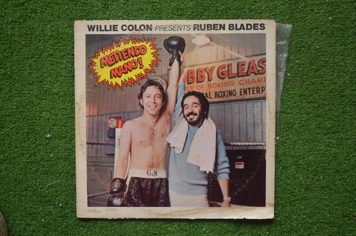 disco lp willie colón presenta a ruben blades -1972