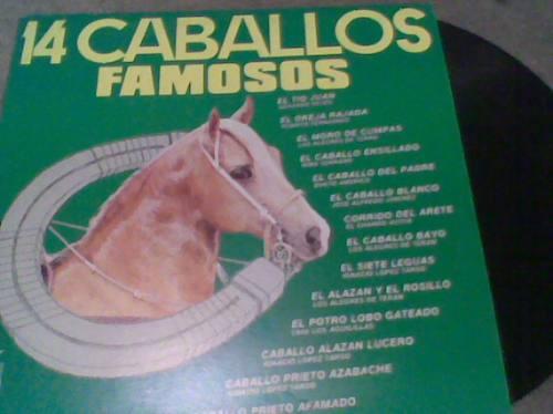 disco l.p.14 caballos famosos