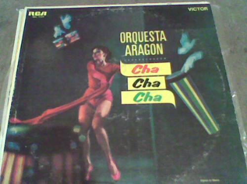 disco l.p.331/3 acetato orquesta aragon cha cha cha