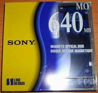 disco magneto optico 3.5, 640mb, 2,048 bps rewritable arb
