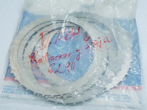disco metal caja baja retroceso silverado, 3500hd 6l90-6l80