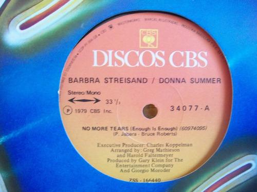 disco mix barbra streisand / donna summer 1979
