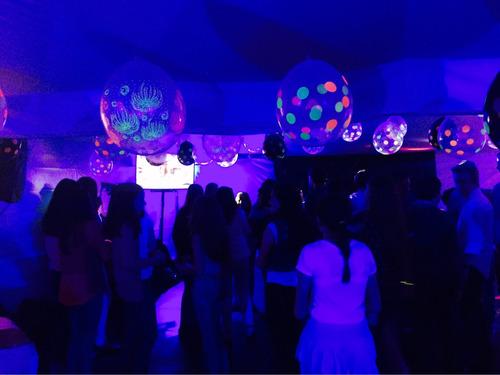 disco movil karaoke alquiler luz uv negra para fiestas neon