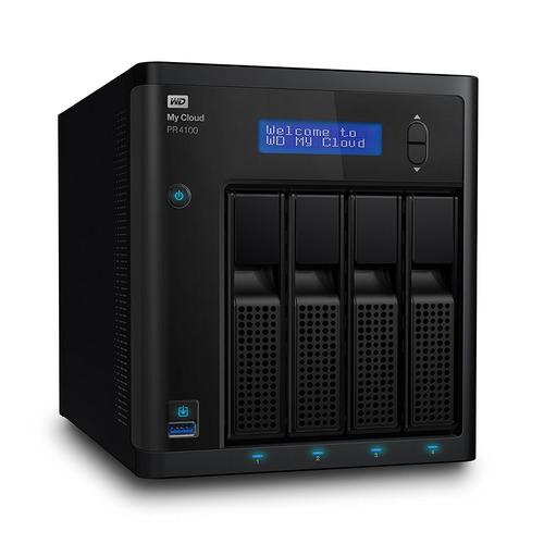 disco nas wd 16tb my cloud pro series pr4100 network