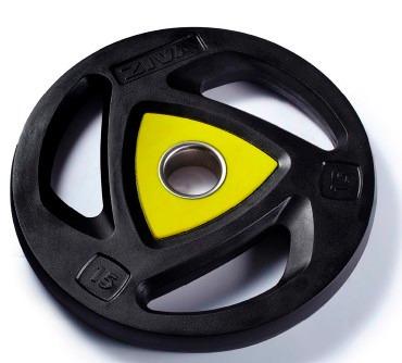 disco olimpico rubber ziva por kg