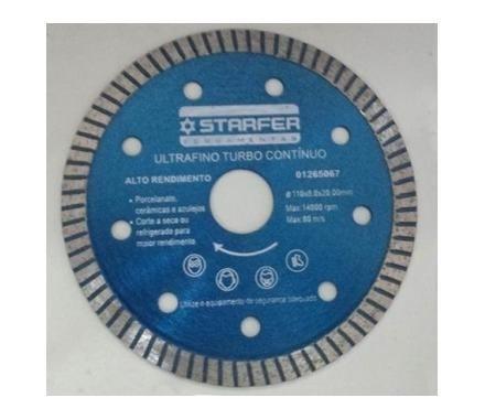 disco p/ corte porcelanato ultra fino 1mm(5pçs)