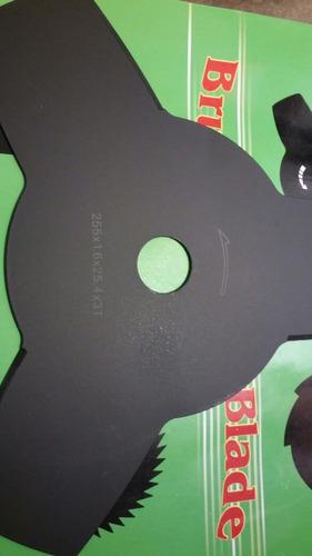 disco para desmalesadora 3 puntas