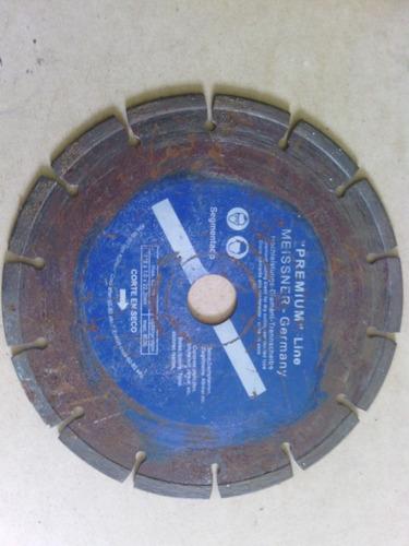 disco para esmeril de 7 pulgadas para corte de concreto