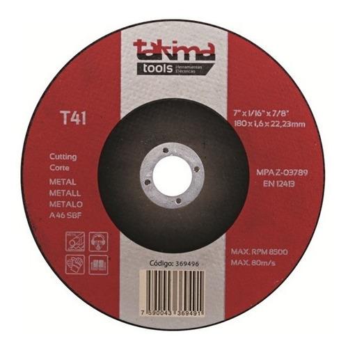 disco para esmerilar ctro depr 7 (paq 5 un) (mayor)