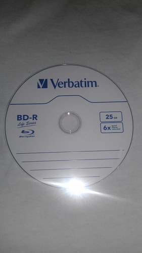 disco para grabar bluray 25gb 6xvelocidad