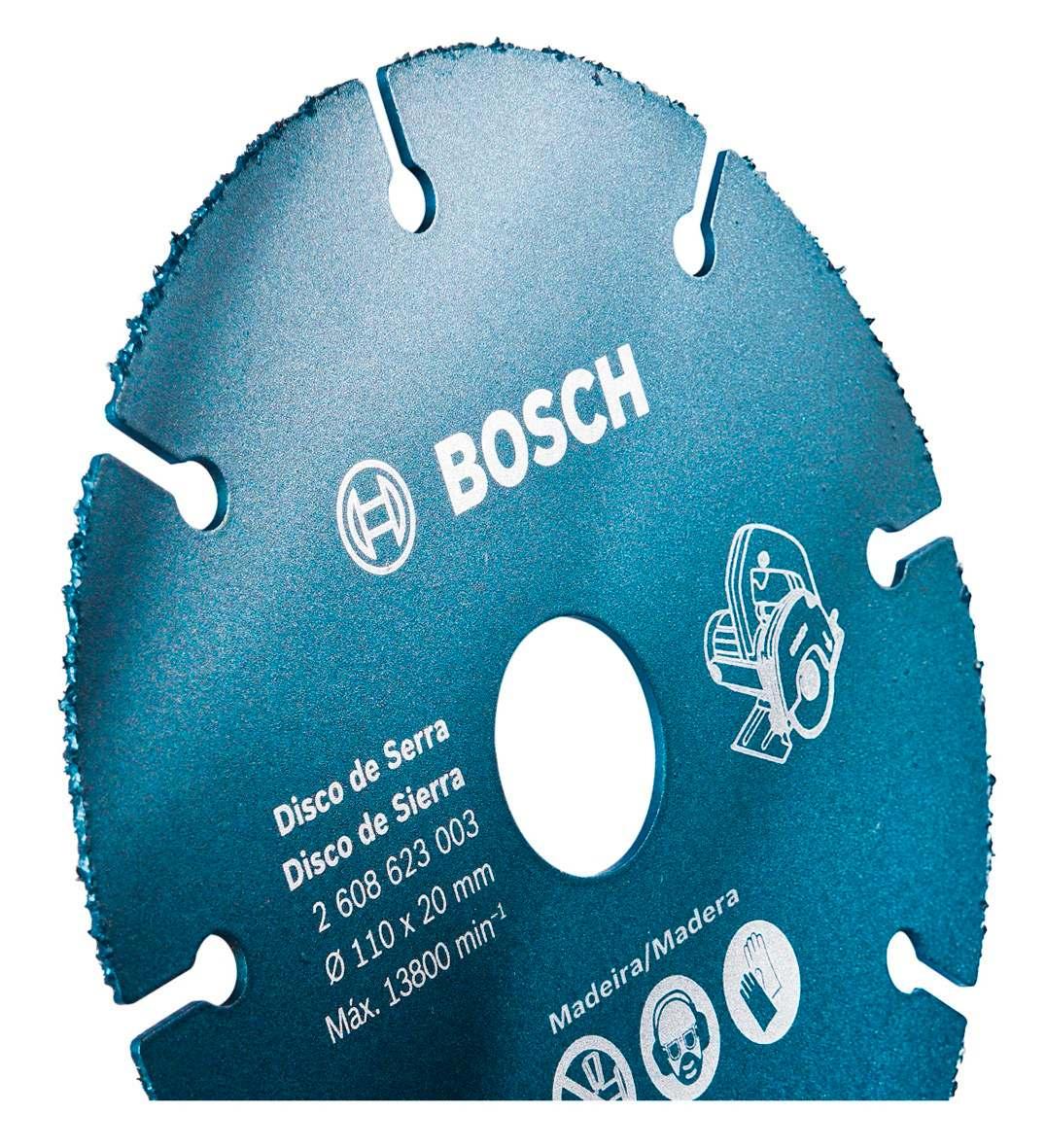 Disco Para Serra Mármore Especial P/ Madeira 110 Mm Bosch R$ 31 89  #033046 1076x1181