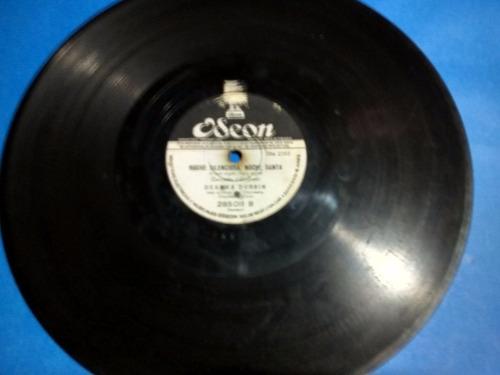 disco pasta 78 rpm decca odeon deanna durbin 2 disco fideles